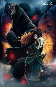 Ilustrador transforma as princesas da Disney em seres monstruosos