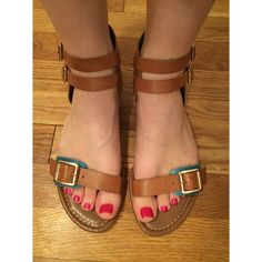 Vince Camuto sandals Vince Camuto brown strap sandals..worn a handful of times..very versatile 8/10 on condition Prices are based off the items condition & the 20% cut Posh Mark takes..ONLY (trades,pay pal etc) I will decline any unrealistic offers (low ballers) Vince Camuto Shoes Sandals