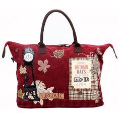 Vendula London Snowflake Barrel Bag Coole Handtasche für ...