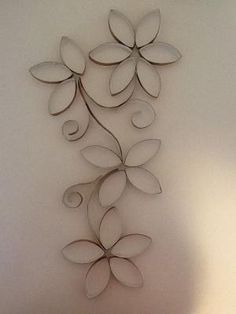 Toilet paper roll wall art by toni