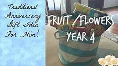 fruit and flowers wedding anniversary gifts#anniversary #flowers #fruit #gifts #wedding 4th Wedding Anniversary Gift, Anniversary Gifts For Husband, Anniversary Gift For Her, Anniversary Ideas, Anniversary Flowers, Second Anniversary, Traditional Anniversary Gifts, Fruit Flowers, Traditional Wedding