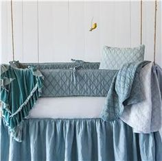 Buy Linen Crib Sheet online with free shipping from thegardengates.com