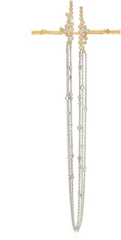 Amante Fringe Ring Bracelet by Mike Joseph Ring Bracelet, Bracelets, Joseph Fashion, Diamond Cluster Ring, Rings, Jewelry, Women, Jewlery, Jewerly