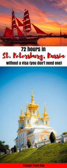 72 hours in Saint Petersburg, Russia without a visa. Visa free Russia. St. Petersburg, Russia itinerary