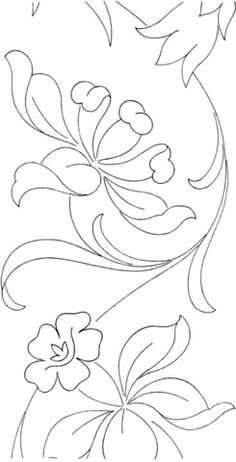 Printable Coloring Pictures Of Flowers Best Of Flower Page Printable Coloring Sheets Saree Embroidery Design, Floral Embroidery Patterns, Embroidery Motifs, Learn Embroidery, Flower Embroidery, Pattern Coloring Pages, Flower Coloring Pages, Mandala Coloring, Saree Painting Designs