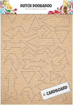 470.309.002 Dutch Cardboard Art Arrows