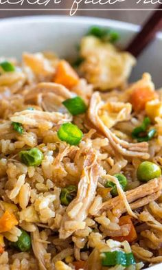 Better than Takeout Chicken Fried Rice #recipe