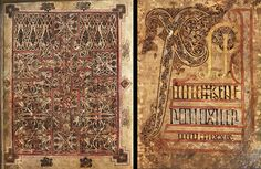 St Chad gospels. Vellum, AD 700–800. Used by permission of the Chapter of Lichfield Cathedral. © Trustees of the British Museum