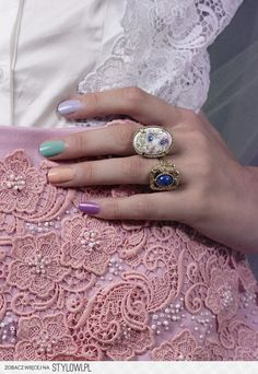 All favorite colors! #pinknails #colorfulmani #vdaynails #nails - bellashoot.com