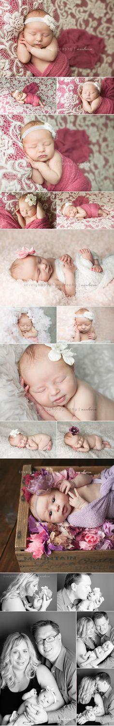 Newborn Baby Girl in pink!