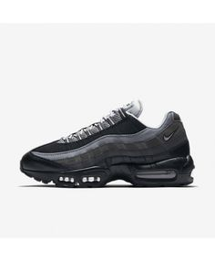 watch 6002e 2b6c4 Nike Air Max 95 Essential Black Anthracite Cool Grey Wolf Grey Mens Shoes  Outlet Nike Air