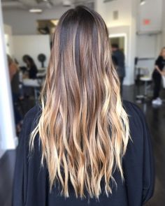 Hairstyles and Beauty: The Internet`s best hairstyles, fashion and makeup pics are here. Brown Hair Balayage, Brown Blonde Hair, Hair Highlights, Cute Hair Colors, Colored Hair Tips, Hair Painting, Love Hair, Dyed Hair, Hair Inspiration