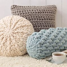 Cozy Crochet Pillows - Free Pattern