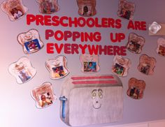 preschool bullentin board ideas | Preschoolers Are Pupping Up Everywhere!