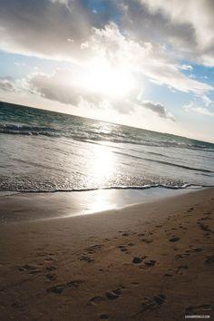 Sunrise over Kailua #hawaii #kailua #oahu #beach #ocean #vacation #sunrise