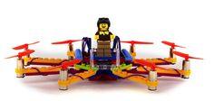 Construye y programa tu propio dron con piezas de LEGO gracias a Flybrix - http://www.hwlibre.com/construye-programa-propio-dron-piezas-lego-gracias-flybrix/