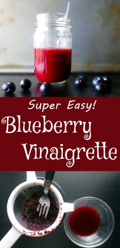 A very light and healthy salad dressing. Skip the heavy, creamy dressings and try this refreshing blueberry vinaigrette recipe. Blueberry…