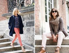Promod essentials for fall #colouredtrousers #falloutfit #falltime #howtowear