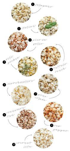 Ten easy popcorn recipes - Delia Creates