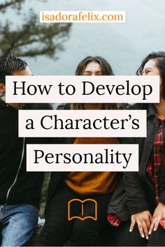 How to Develop a Character's Personality. Learn how to write a book, how to start writing a book for beginners, how to finish writing a story, and more. Creative Writing Tips, Book Writing Tips, Writer Tips, Start Writing, Writing Resources, Writing Help, Writing Skills, Writing Prompts, Writing Ideas