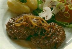 Saftige elgkarbonader – Tid Til Overs Nom Nom, Steak, Food And Drink, Beef, Recipes, God, Meat, Dios, Recipies