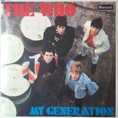 THE WHO - MY GENERATION MONO NY LP MINT på Tradera. Psych   Vinyl  