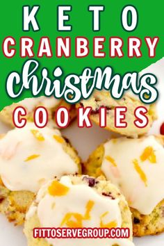 Keto Cranberry Orange Cookies if you've never tried the combination of cranberry and orange before, you're going to be surprised by how amazingly well these flavors go together. These low carb cranberry cookies are the perfect holiday cookie. Keto cranberry Christmas Keto cranberry cookies |low carb cranberry cookies |keto cookies |keto holiday cranberry cookies
