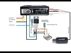 poner bluetooth Para autoestereo dub,Seat alana, sony ,etc - Best sound on . Simple Electronics, Electronics Components, Electronics Projects, Car Audio Installation, Electrical Installation, Electronic Engineering, Electrical Engineering, Subwoofer Diy, Bluetooth