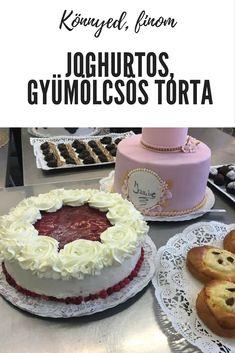 Joghurtos gyümölcs torta recept Mousse, Fondant, Cheesecake, Food, Cakes, Cake Makers, Cheesecakes, Essen, Kuchen