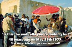 Long time ago in a galaxy far far away! Time to celebrate ! #starwars1977 #starwars #jedibusiness #gobacktoyourdrinks
