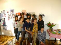 In October 2013, I taught a Cocktail Hat Making workshop in Brooklyn. This upcoming June 2014, I'll be teaching 3 workshops in California.  Sign up on my website: www.jasminzorlu.com/workshops.html