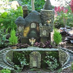 Primrose Cottage Garden. I love this site. They have the cutest Fairy Garden houses and accessories...:)