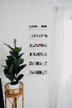 10 Ways To Display Polaroid Photos #wallart