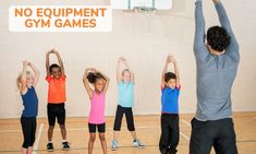 18 Fun PE Games Needing No Equipment – Kid Activities - Pin Hairs Physical Education Lesson Plans, Physical Activities For Kids, Gym Games For Kids, Pe Activities, Kids Gym, Exercise For Kids, Activity Games, Crossfit Kids, Dementia Activities
