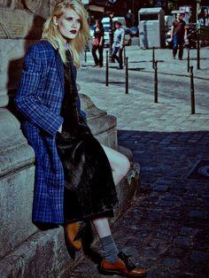 Yulia Terentieva by Alexey Kolpakov for Harper's Bazaar Russia