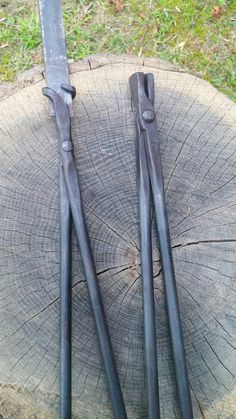 Bladesmith tongs as a set