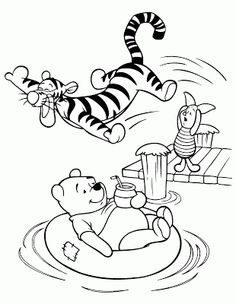 Winnie the Pooh Coloring Pages . Winnie the Pooh Coloring Pages . Winnie the Pooh Coloring Pages Unique Excellent Swimming Coloring Summer Coloring Pages, Bear Coloring Pages, Free Coloring Sheets, Halloween Coloring Pages, Cartoon Coloring Pages, Disney Coloring Pages, Coloring Pages For Kids, Coloring Books, Kids Coloring