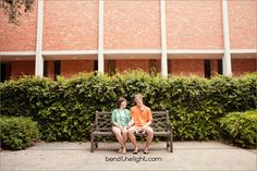 Engagement photos on the #TrinityU campus in #SanAntonio.