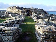 The Broch of Gurness is amazing and unlike Skara Brae you can walk through it.