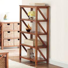 SONOMA life + style® Cameron 4-Shelf Tiered Bookcase