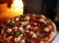 """Soppressata Pizza at Lolita, 900 Literary Road, Cleveland (Tremont); 216-771-5652. Michael Symon's restaurant tempts with cool, hip vibe and fabulously satisfying food. Lolita features spectacular house-cured meats, pizzas and, well, more meat. Symon is unapologetically """"meat-centric. Lolita remains true to Lola's casual-yet-chic roots and its Mediterranean-inspired menu, with moderate prices. -- David Farkas"""