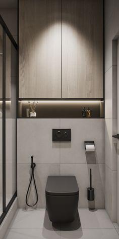 Bathroom Lighting Design, Bathroom Design Luxury, Bathroom Design Small, Luxury Toilet, Toilet Installation, Mini Bad, Mudroom Laundry Room, Powder Room Design, Toilet Design