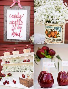 Apple-Themed Wedding Inspiration | Green Wedding Shoes Wedding Blog | Wedding Trends for Stylish + Creative Brides