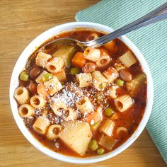 minestrone, delicious and good for Italian stew.