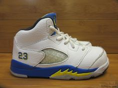 d495a18f1d2a63 Nike Air Jordan Retro 5 Laney Shoes