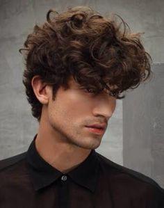Men's Wavy Medium Length Hair