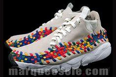 Nike Footscape Woven Chukka (Rainbow) #sneakers