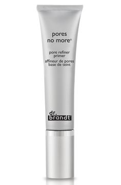 This lightweight primer is the BOMB when it comes to reducing the appearance of large pores.
