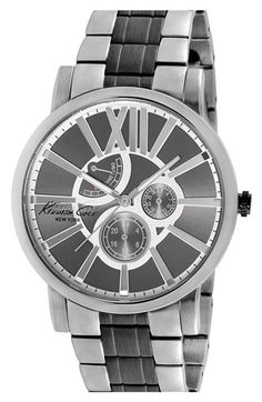 Kenneth Cole New York Multifunction Bracelet Watch, 44mm available at #Nordstrom
