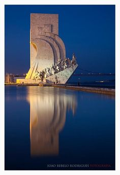 Padrão dos Descobrimentos (Monument to the Discoveries) Belém - Lisboa - Portugal.